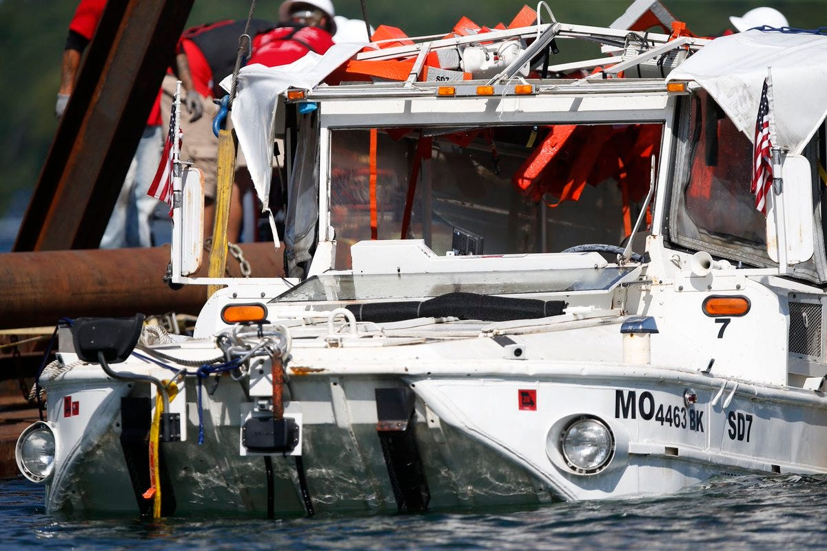 Duck boat tragedy: NTSB will investigate how 9 relatives escaped