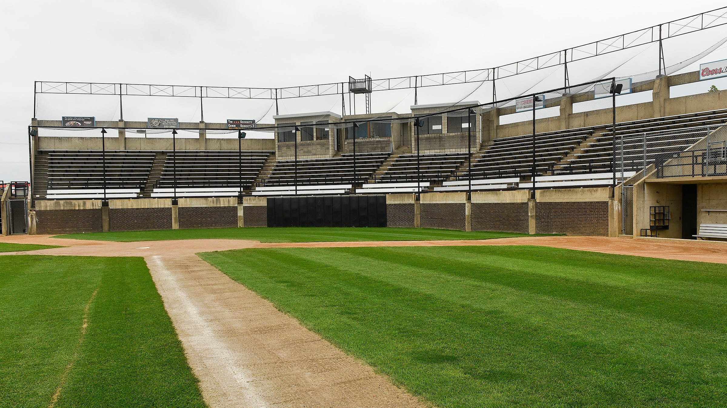 Dick Putz Field, part of the Municipal Athletic Complex, is in need of remodeling and improvements. It's shown Monday, July 23