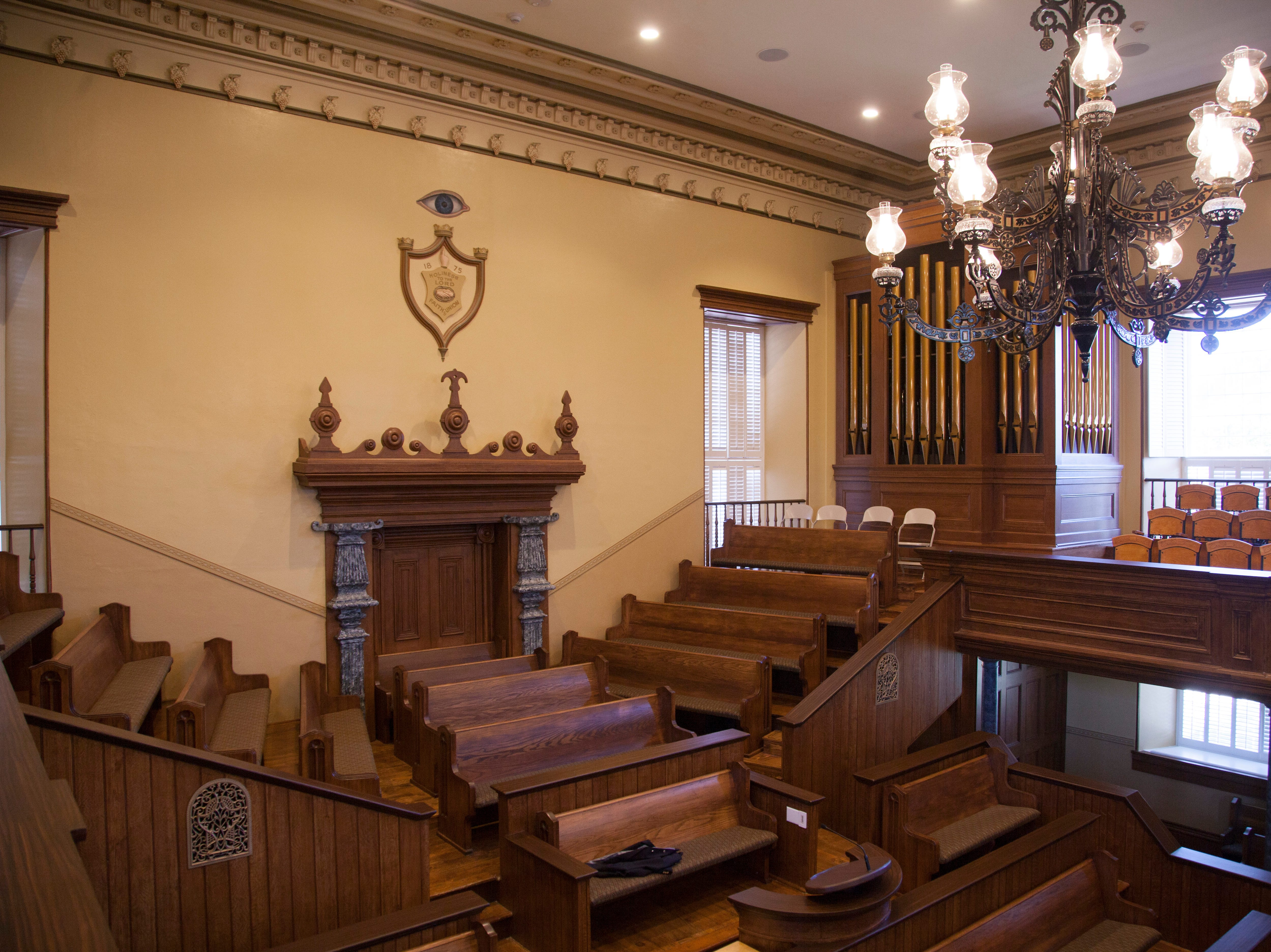 The St. George Tabernacle was opened for tours Monday, July 23, 2018, after two years of renovations to preserve and secure the historic building.