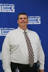 Scotty Crowe, the new principal at Gilchrist Elementary School