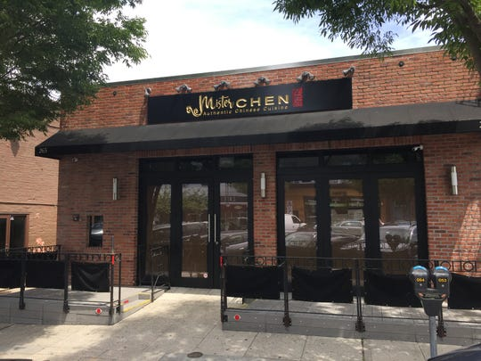 The future Mister Chen Authentic Chinese Cuisine coming to the former Haiku space on Mamaroneck Avenue in Mamaroneck, with sign in place, Saturday, July 21, 2018.