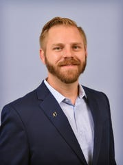 Nick Schreiber was chosen as the young professional of the year by the Wichita Falls Chamber of Commerce and Industry at their annual awards event.