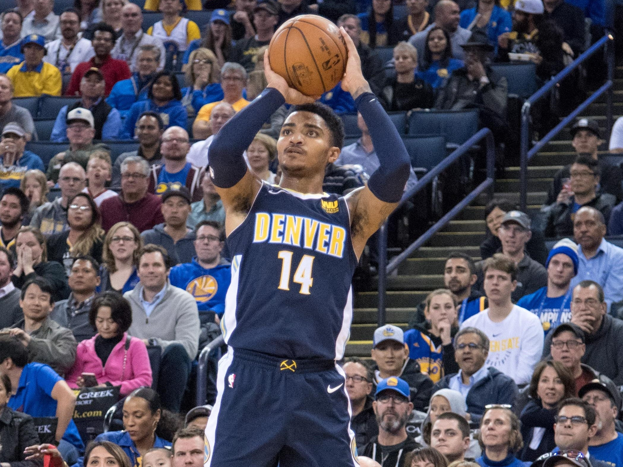 Gary Harris, Denver Nuggets — 24 (born 9/14/1994)