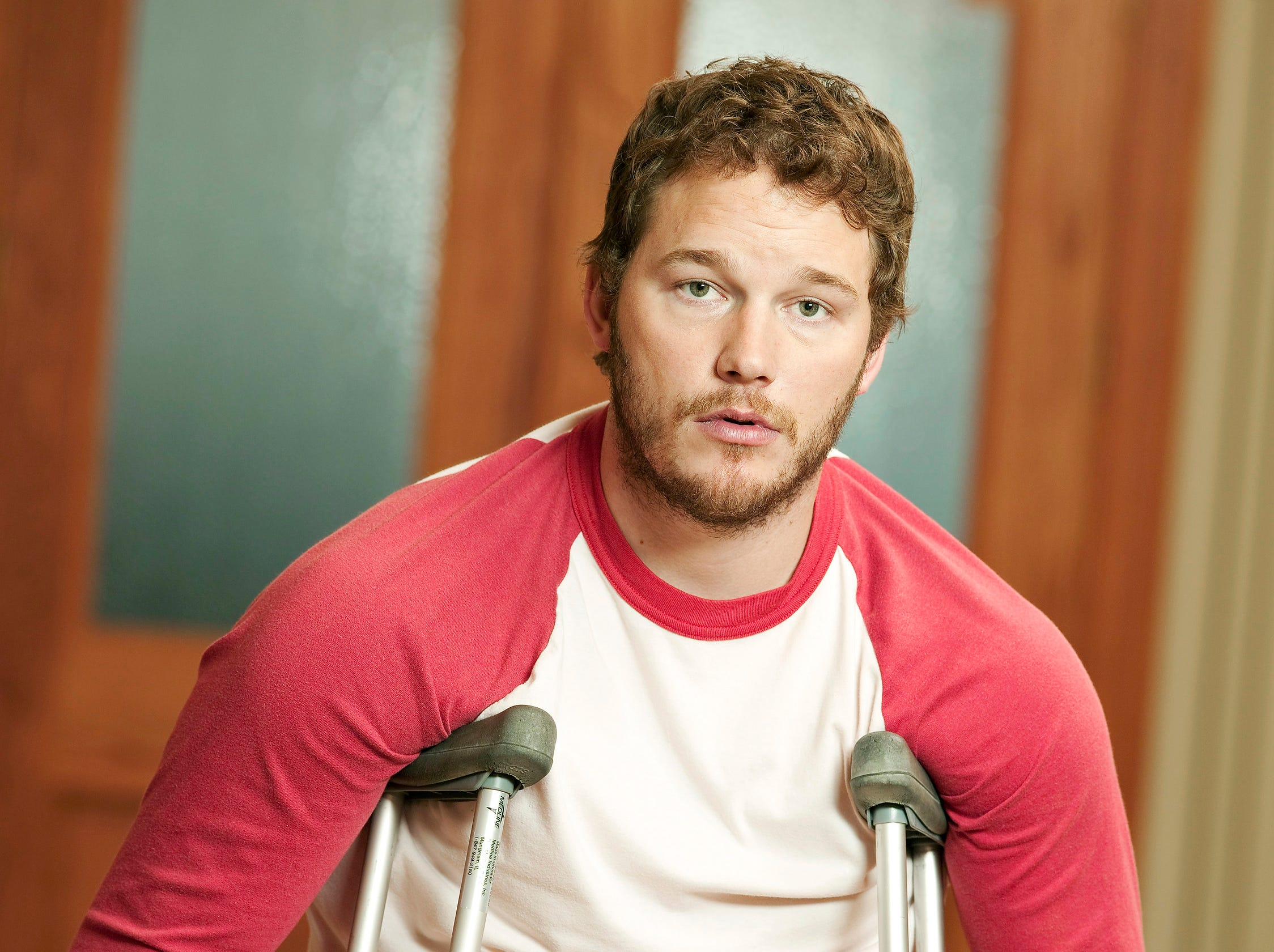 """Chris Pratt as Andy from the television program """"Parks and Recreation."""" CREDIT: Mitchell Haaseth, NBC ORG XMIT: Season:1 [Via MerlinFTP Drop]"""