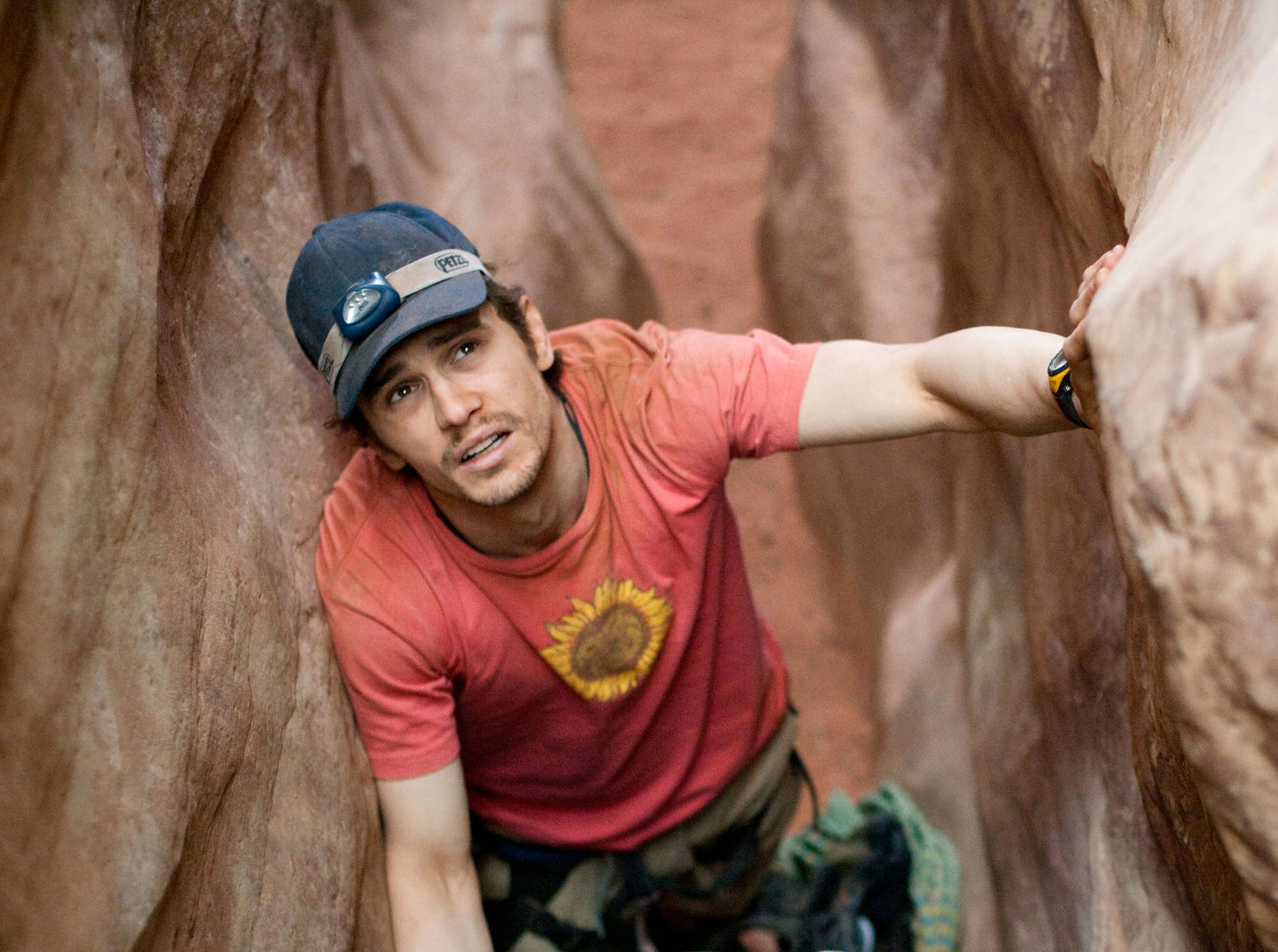 """James Franco in a scene from the motion picture """"127 Hours.""""  Photo by Chuck Zlotnick, Fox Searchlight [Via MerlinFTP Drop]"""