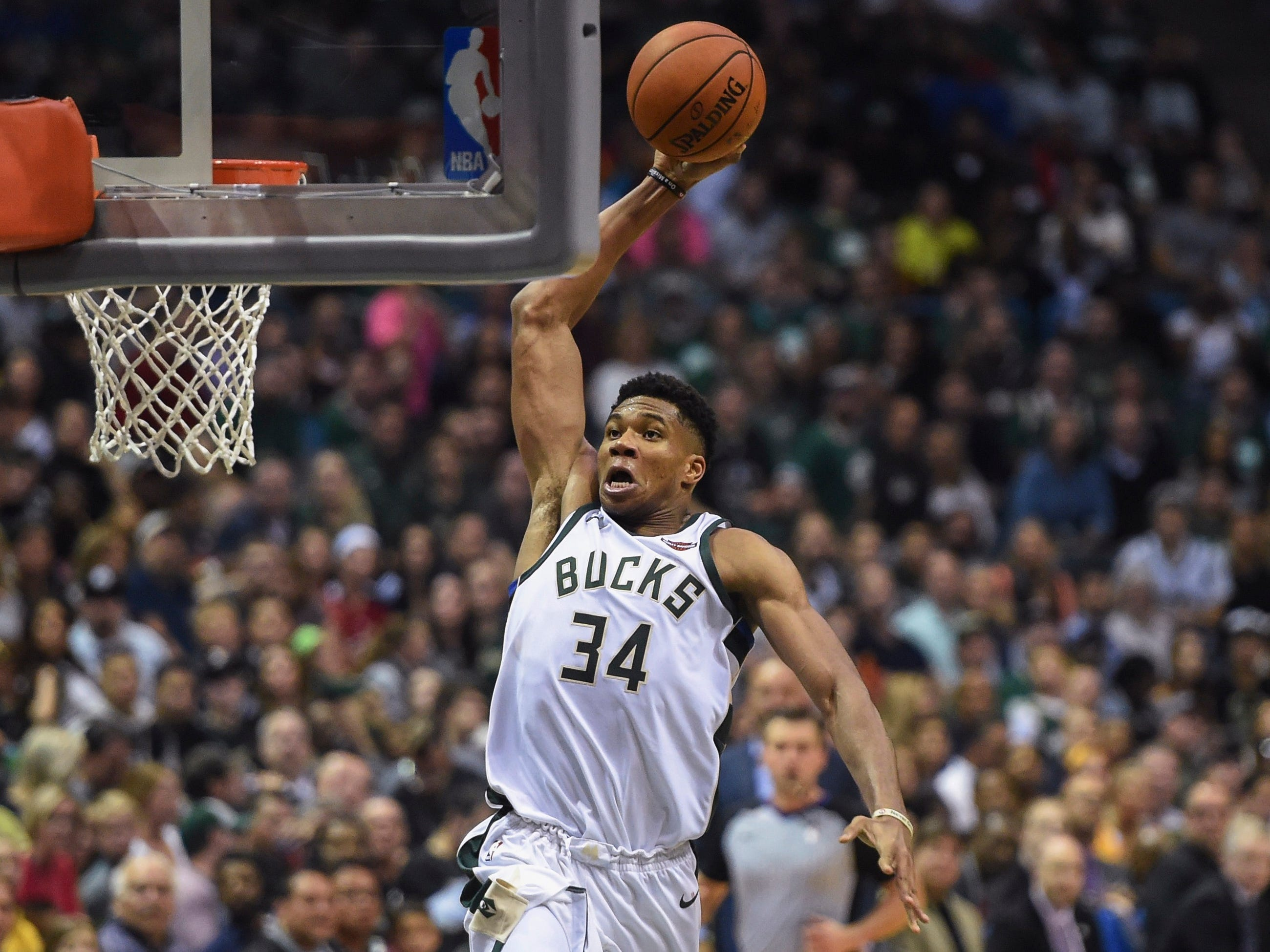 Giannis Antetokounmpo, Milwaukee Bucks — 24 (born 12/6/1994)