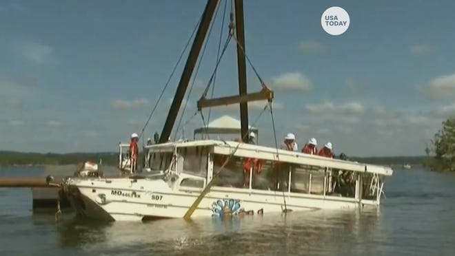 Duck boat recovery