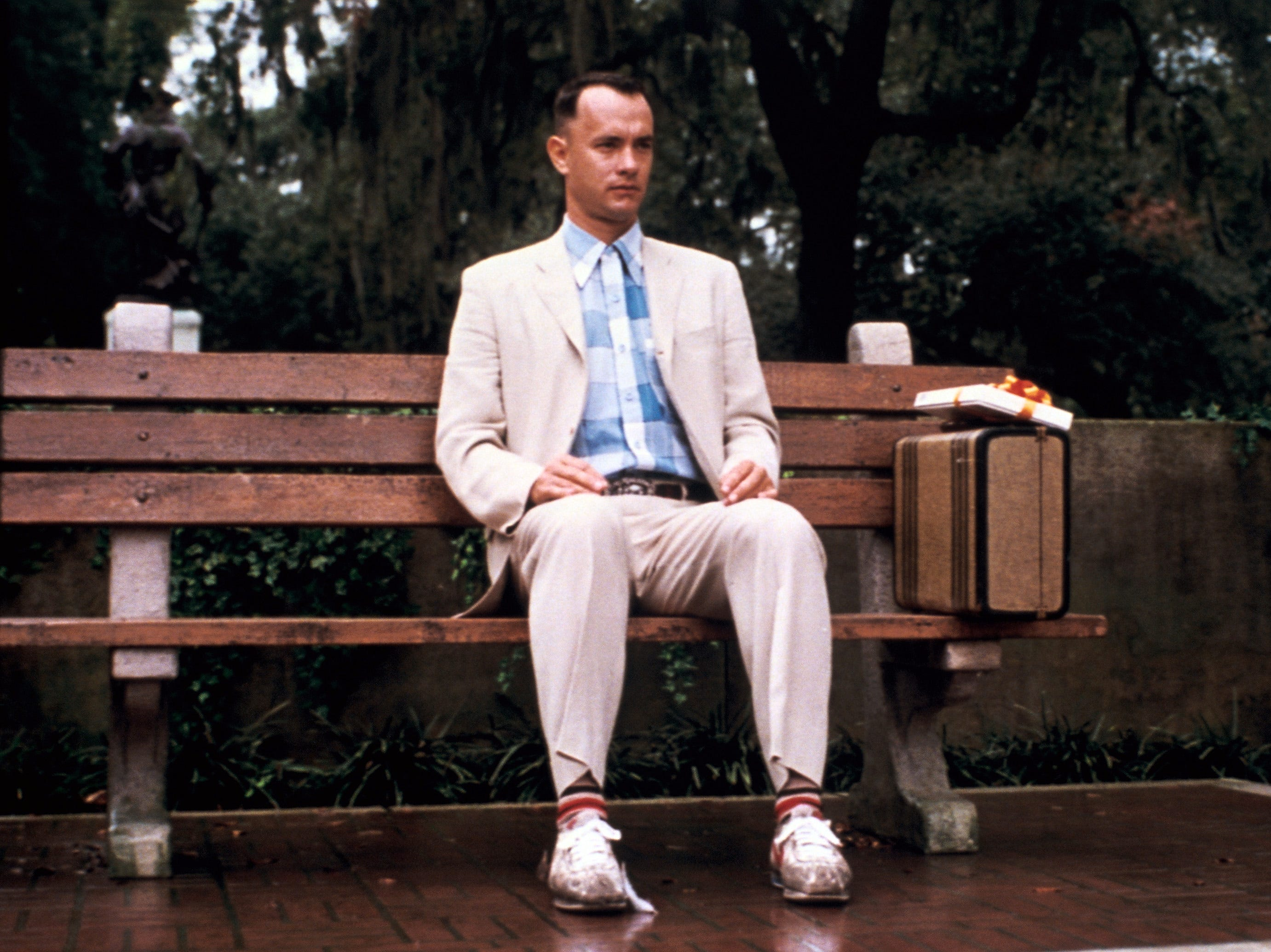 """Tom Hanks in a scene from the motion picture """"Forrest Gump."""" CREDIT: Phillip Caruso, Paramount Pictures [Via MerlinFTP Drop]"""