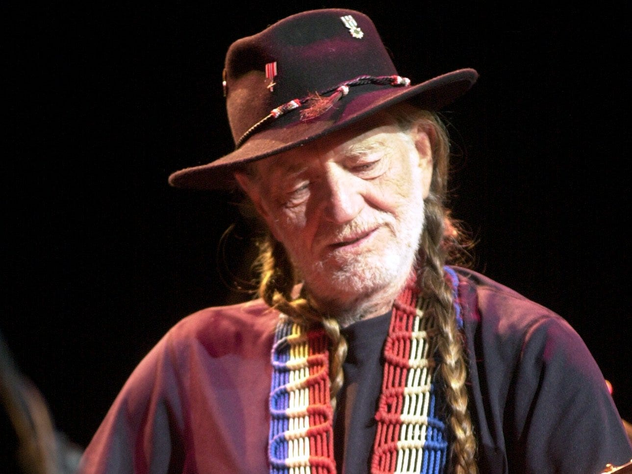 Willie Nelson performs at the Peace Center.