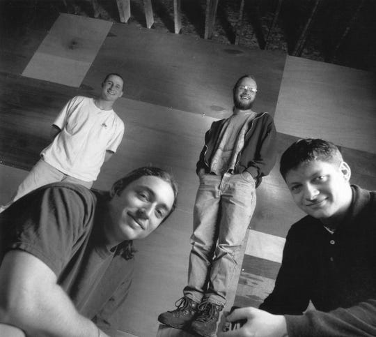 A Nadas promotional image from the late 1990s.