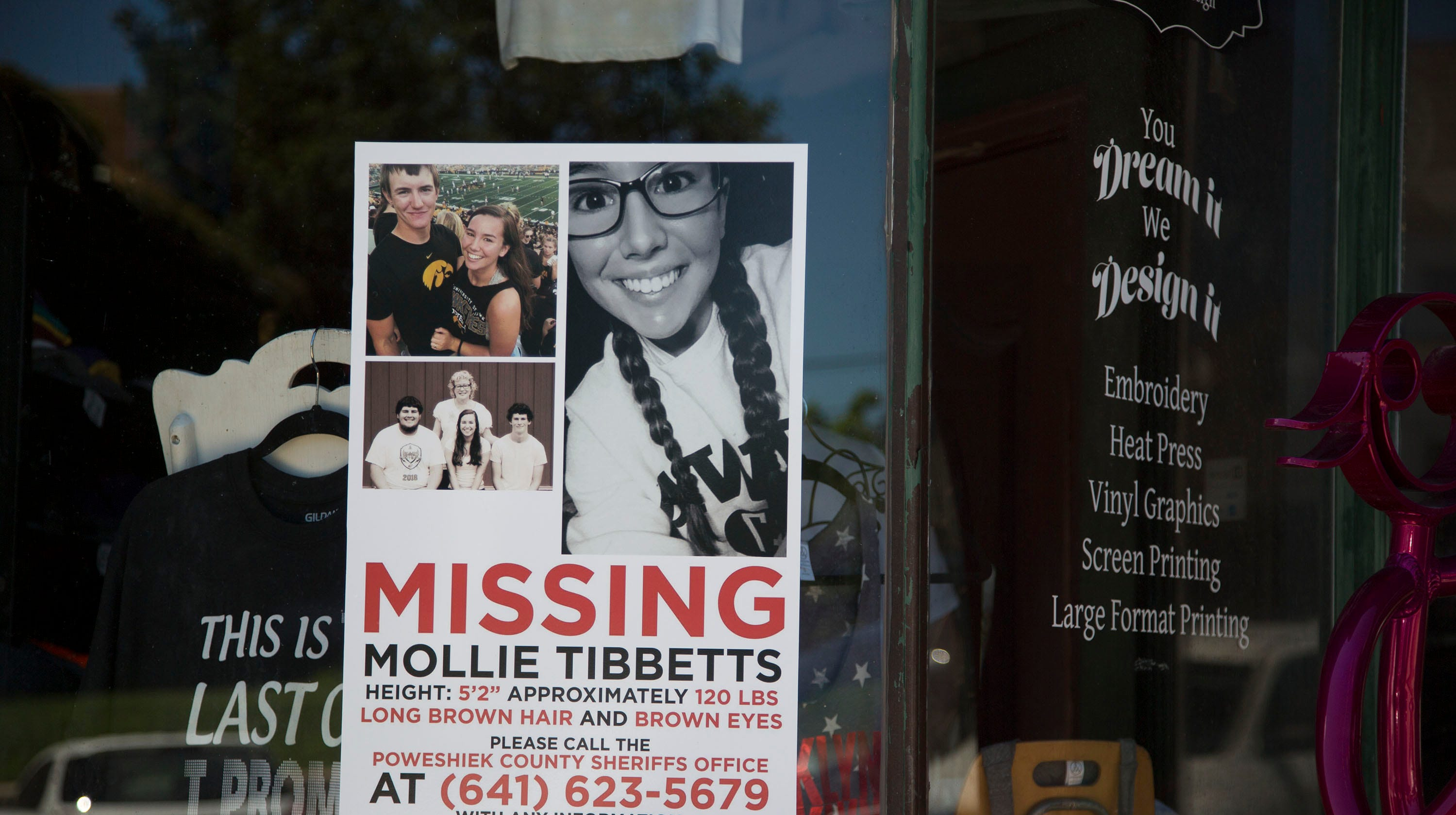 Reward fund for missing Iowa student Mollie Tibbetts  tops $300,000