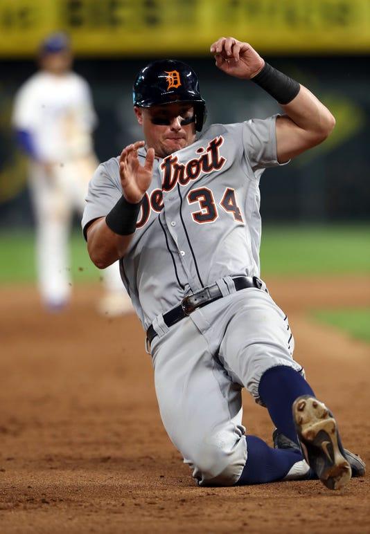 James McCann, Detroit Tigers baserunning