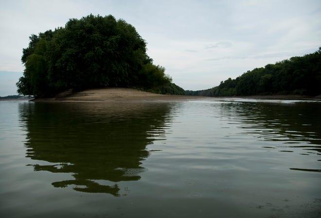 The Ohio River near Uniontown, Ky.