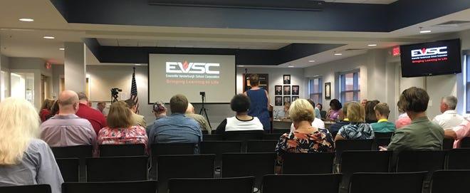 The EVSC School Board met in a regular meeting on July 23, 2018.