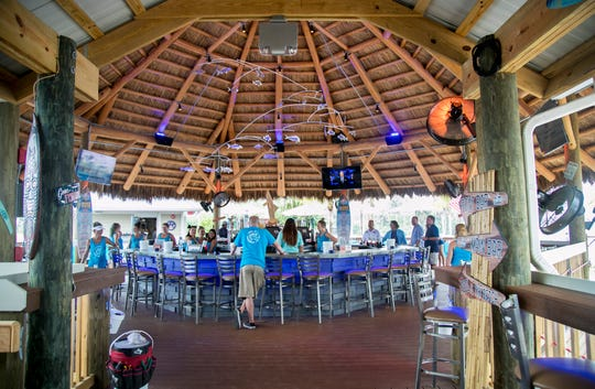 The Boathouse Tiki Bar & Grill on State Road 31 in Fort Myers opens at 11 a.m. Thursday, July 26, 2018.