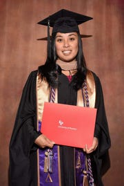 Junalyn Elena Santiago Lauron received her master's degree in Business Administration from the University of Phoenix, Bay Area Campus. Her graduation ceremony was held July 7 at the SAP Center in San Jose, CA. She was also inducted into the Delta Mu Delta Honor Society in Business and is a Bay Area Campus Scholar's list since Winter of 2018. She is the daughter of Maria Corazon S. Lauron of Guam and is a Class of 2000 graduate from Academy of Our Lady of Guam.