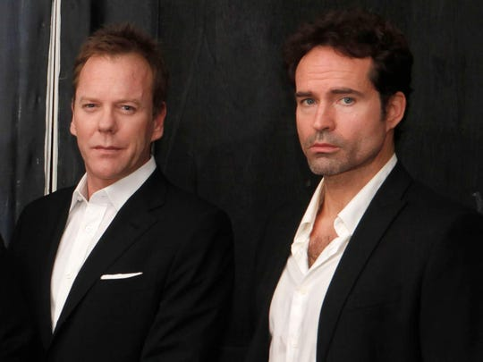 """""""Lost Boys"""" stars Kiefer Sutherland and Jason Patric will greet fans Aug. 25-26 at HorrorHound Weekend."""