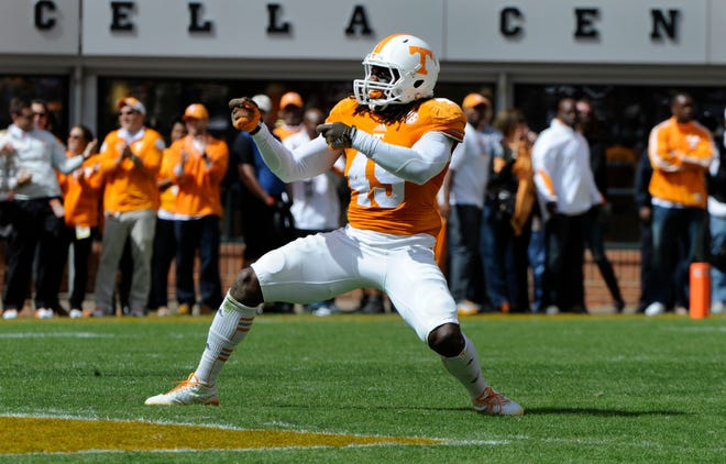 Linebacker A.J. Johnson hasn't played in a game since 2014.