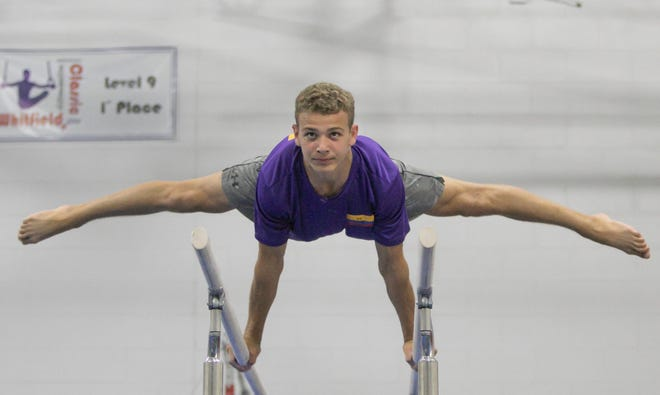 Landen Blixt of Fowlerville finished second in the junior national gymnastics meet after winning state and regional titles.