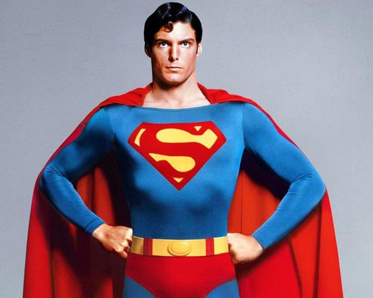 "It's a bird, it's a plane, it's Christopher Reeve as ""Superman,"" and he'll be landing at the Orpheum on Saturday along with his World's Finest pal, Batman."