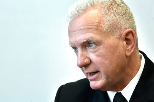 Admiral Brett P. Giroir, M.D.,  Assistant Secretary for Health at the U.S. Department of Health and Human Services Tuesday July 24, 2018, in Nashville, Tenn.