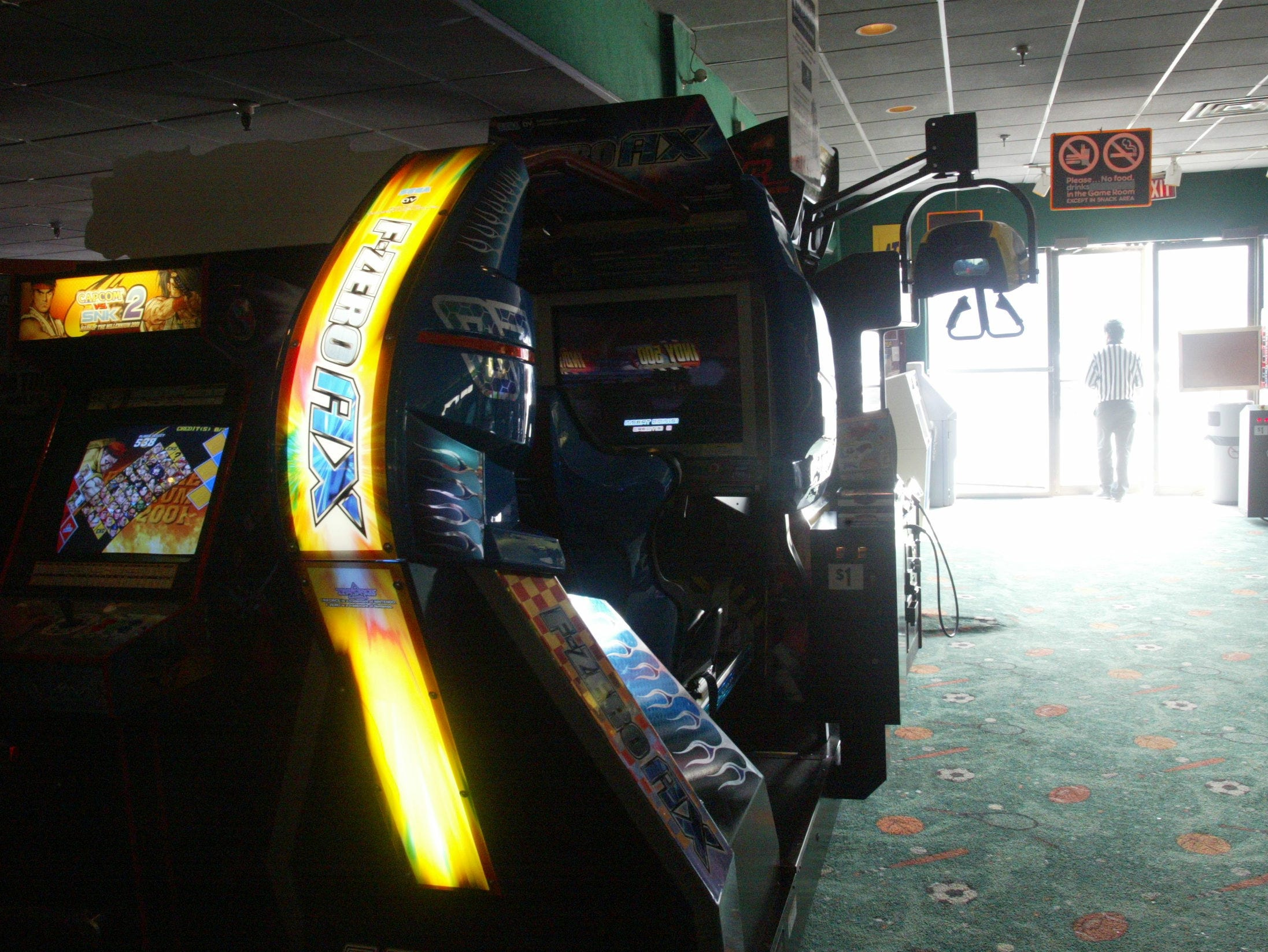 A view of some of the arcade games at Fun N Games at Willowbrook Mall in Wayne.