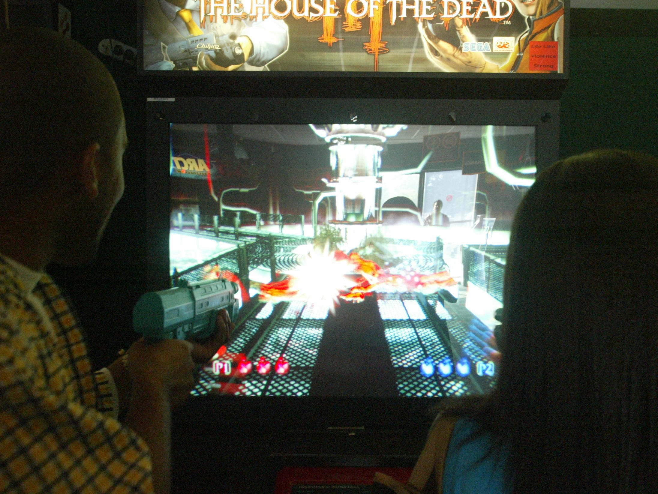 People play House of the Dead II at Fun N Games in Wayne.