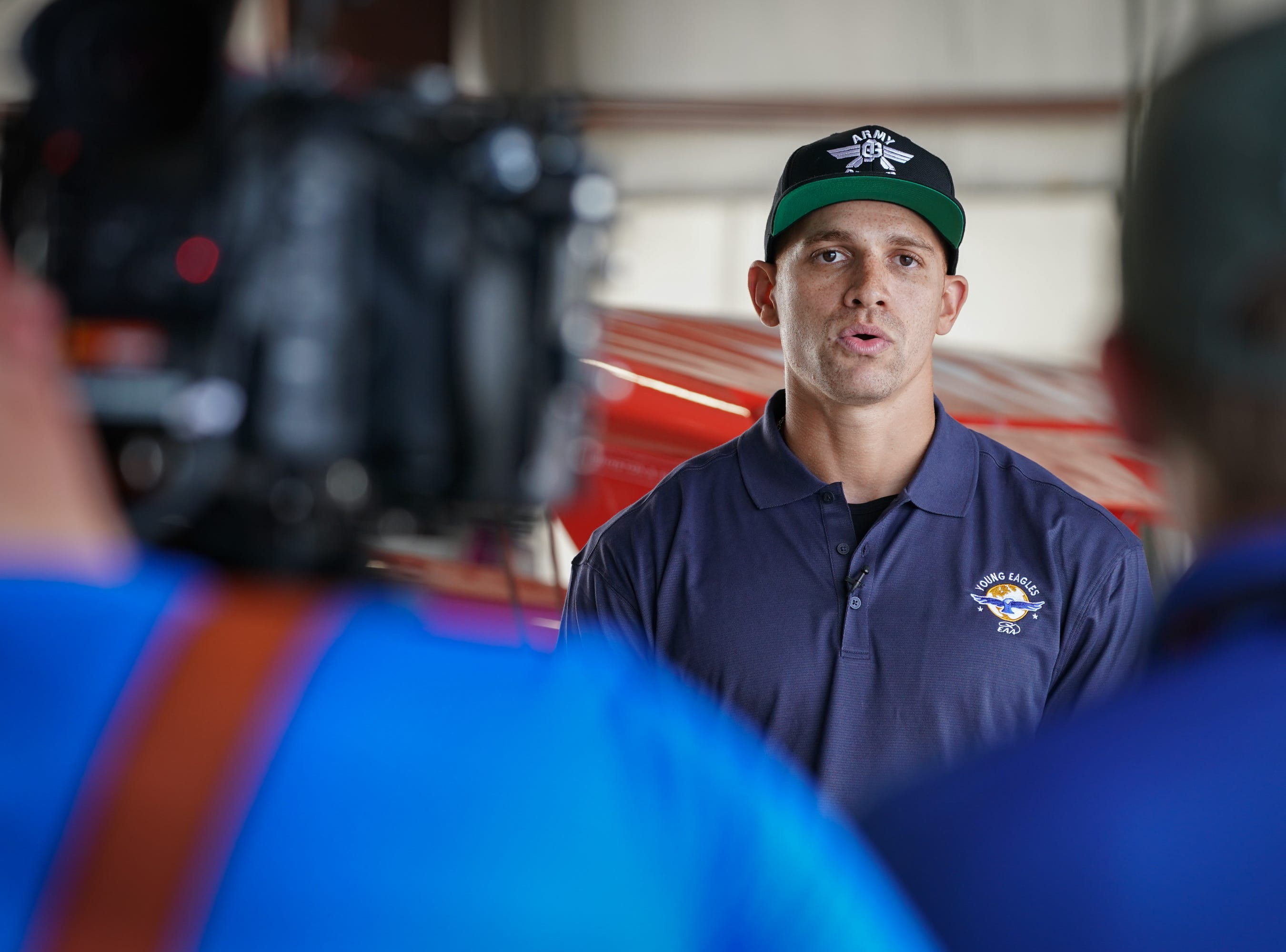 EAA announced  new Young Eagles co-chairman Jimmy Graham with a special flight Monday afternoon. Graham, a Pro Bowl player who is now a tight end with the Green Bay Packers, flew two Young Eagles with Chairman Sean D. Tucker.