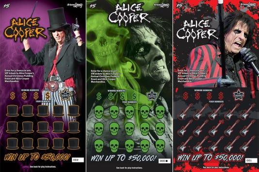 Alice Cooper Scratchers tickets