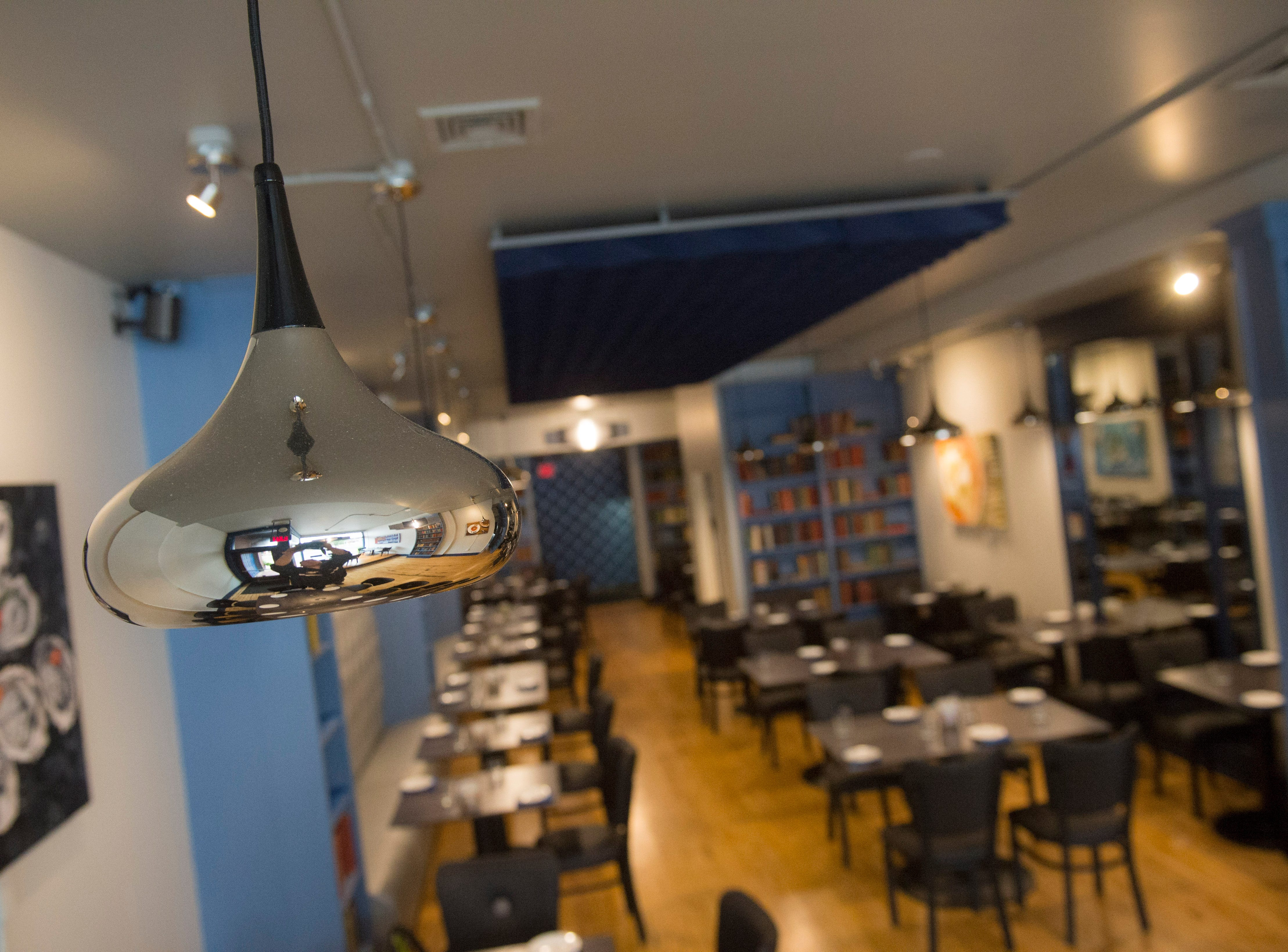 The Left Bank also improved lighting throughout the restaurant.