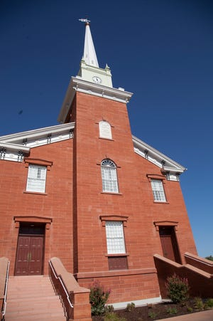 The St. George Tabernacle is one of more than 60 sites around the U.S. where a commemorative tolling of the bells is scheduled at 11 a.m. on Sunday in recognition of the Veterans Day 100th anniversary of the first Armistice Day and the end of hostilities in World War I.