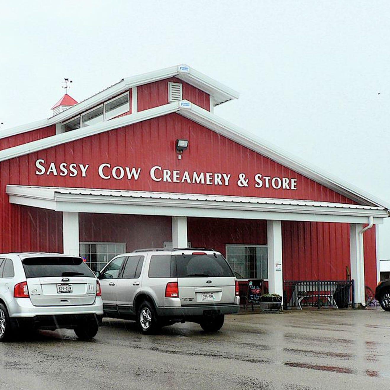 Sassy Cow Creamery: a destination