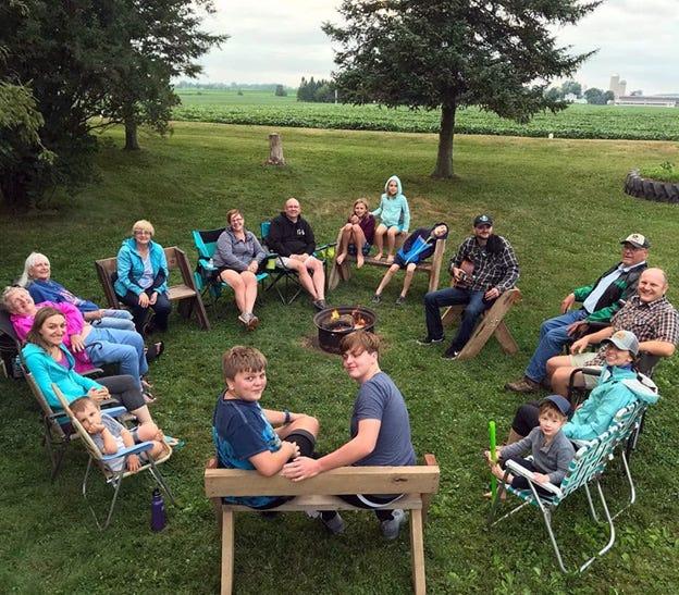 Seventeen campers enjoyed Sunnybrook Farm Camp.(Six missing)