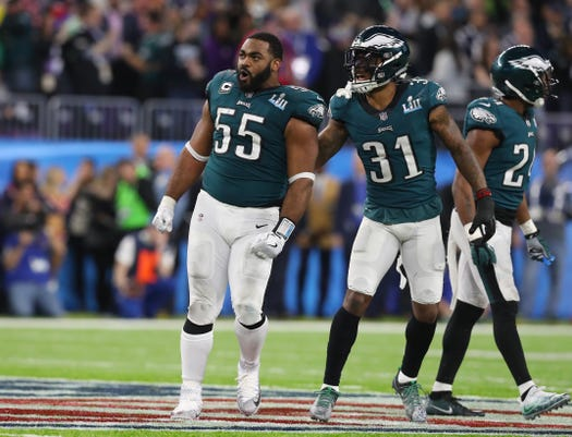 Nfl Super Bowl Lii Philadelphia Eagles Vs New England Patriots 8733f8a37