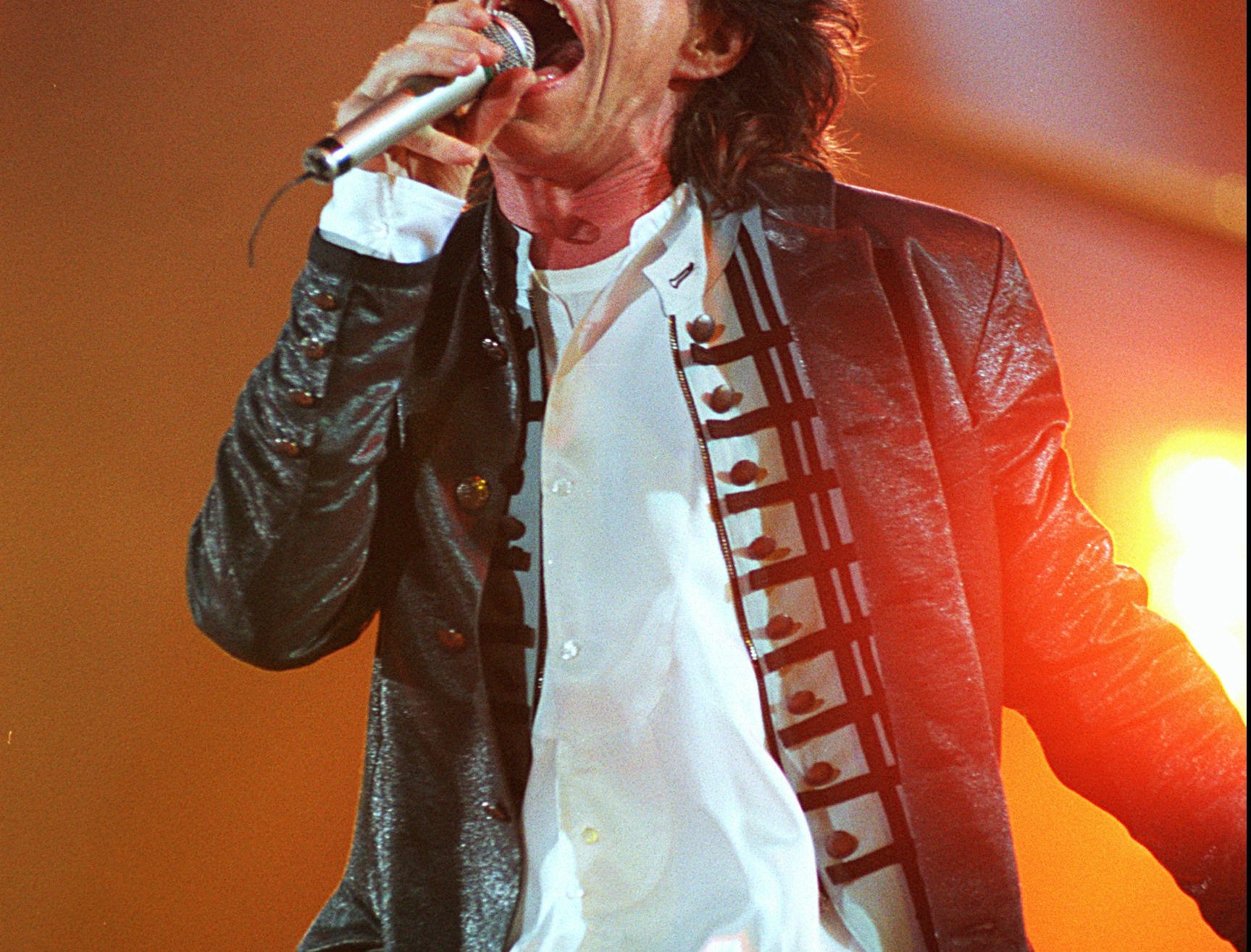 8/1/94 Mick Jagger of the Rolling Stones at RFK The Voodoo Lounge Tour