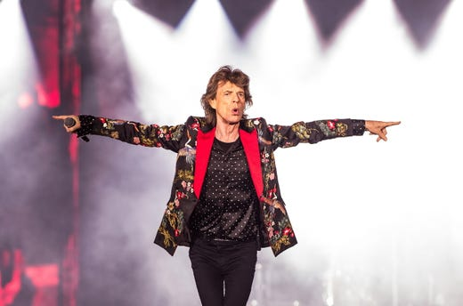 Mick Jagger: Rolling Stones offer their support amid health