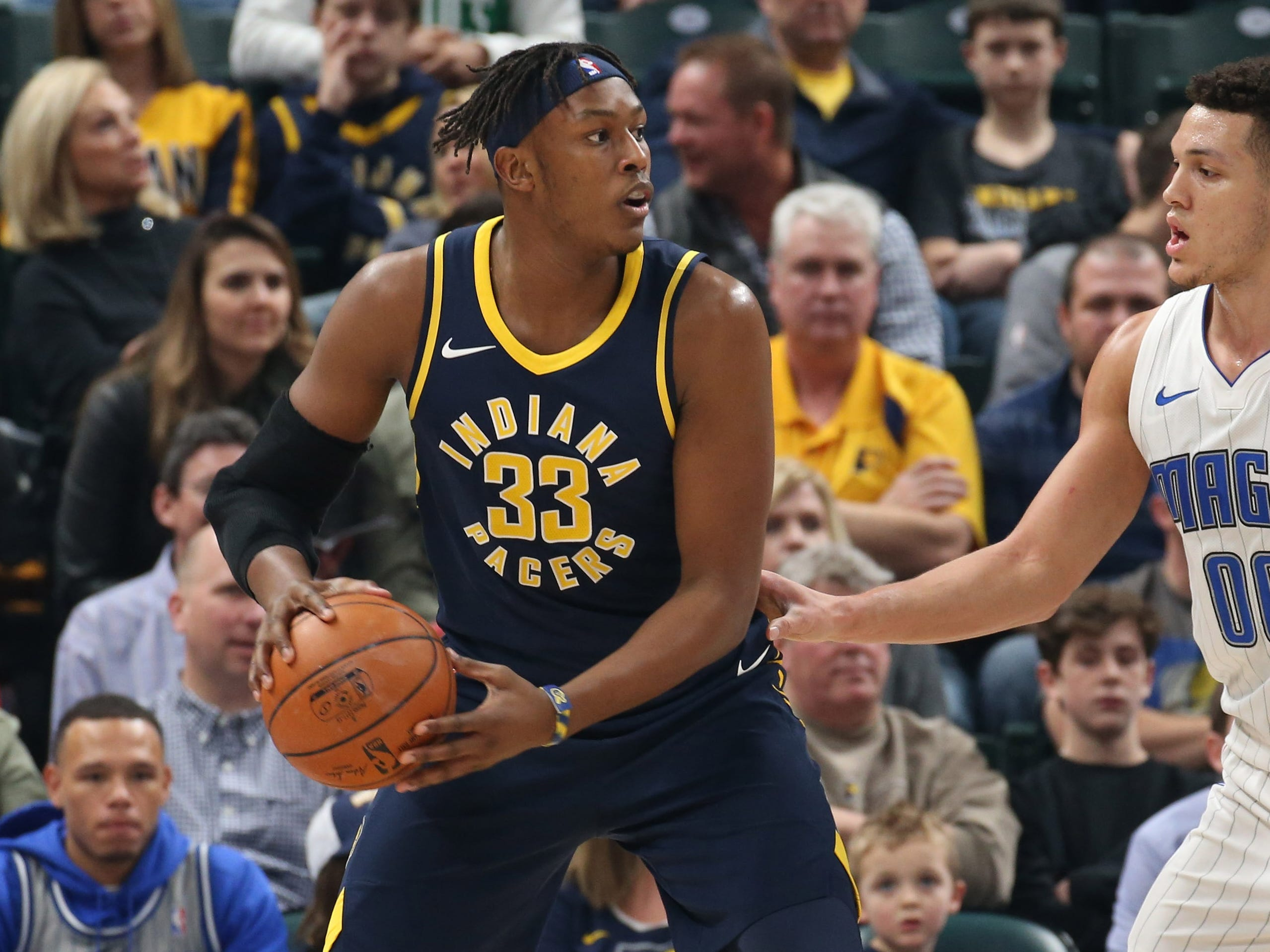 Myles Turner, Indiana Pacers — 22 (born 3/24/1996)