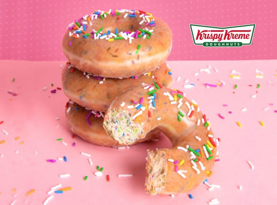 Krispy Kreme is celebrating its 81st birthday Friday, July 27. Customers who purchase a dozen donuts will get a second dozen of the original glazed for $1.