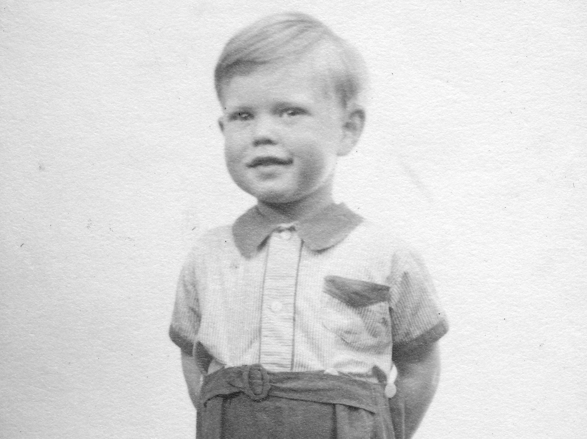DARTFORD,UNITED KINGDOM - CIRCA 1946:  (EMBARGOED FOR PRINT USAGE UNTIL THURSDAY JULY 2ND 2015) Mick Jagger (aged 3) looking smart at home in Brent Lane, Dartford (1946). This previously unseen image will form part of The Rolling Stones - 'Exhibitionism' at Londons Saatchi Gallery.  Mick Jagger, Keith Richards, Charlie Watts and Ronnie Wood have opened their personal archives and found never before seen photographs of themselves as youngsters. These along with hundreds more rare and unseen images will create the first ever international Rolling Stones exhibition which will open at the Saatchi Gallery in April 2016. (Photo by Stones Archive/Getty Images) ORG XMIT: 561825389 ORIG FILE ID: 479111232