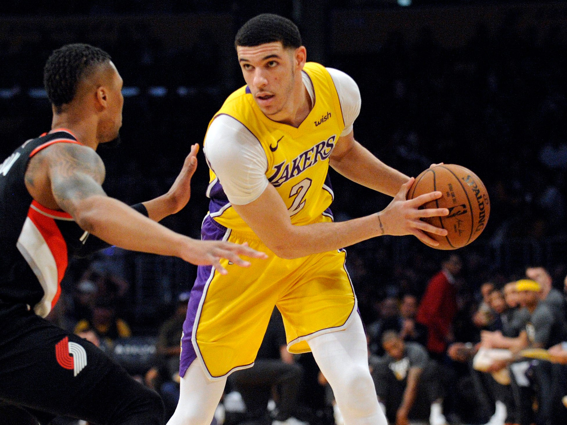 Lonzo Ball, Los Angeles Lakers — 21 (born 10/27/1997)