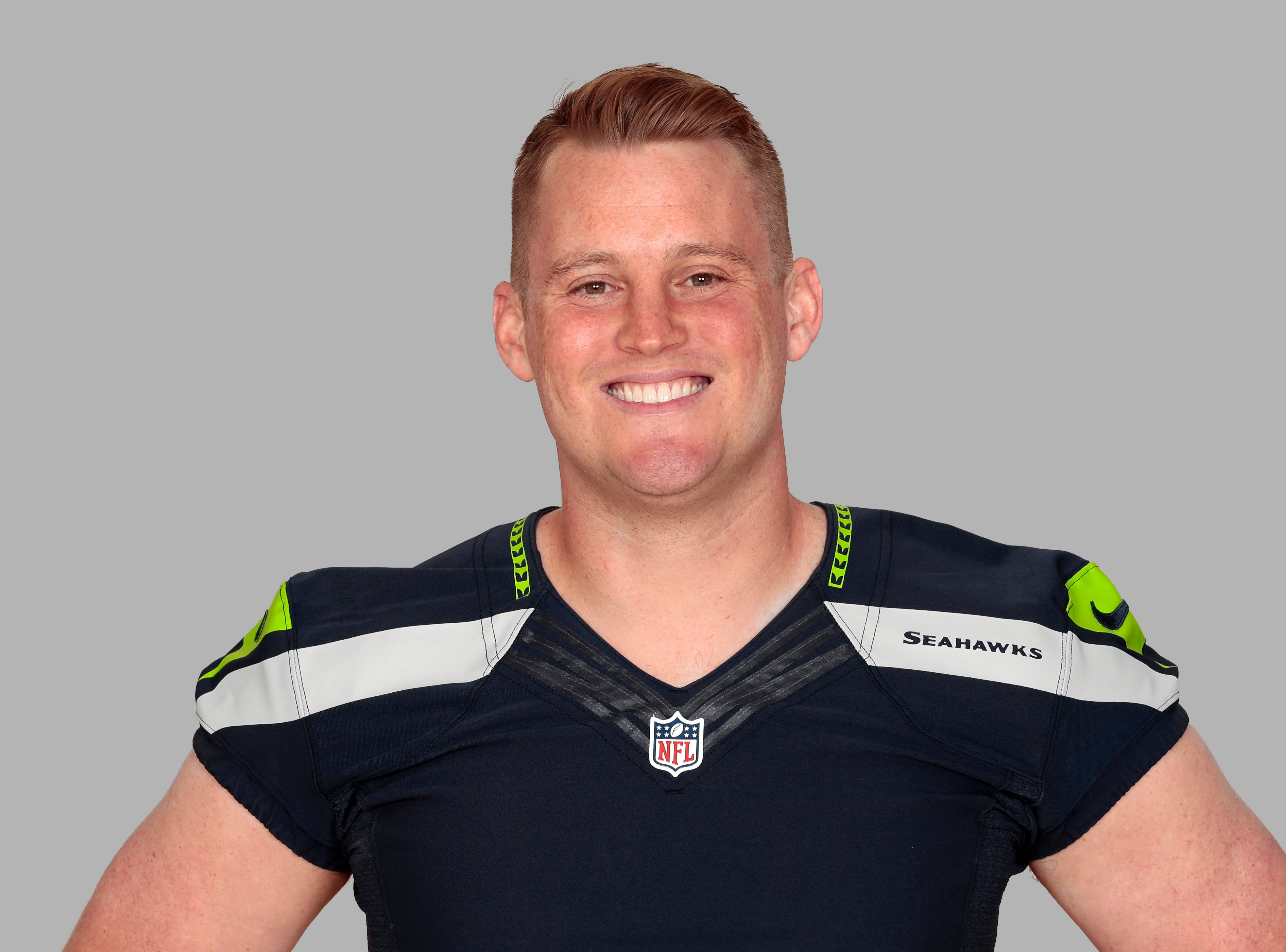 This is a 2014 photo of Clint Gresham of the Seattle Seahawks NFL football team. This image reflects the Seattle Seahawks active roster as of Monday, June 2, 2014 when this image was taken. (AP Photo)