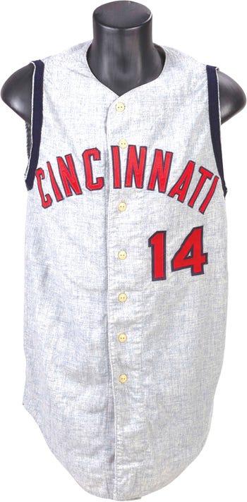 1966 Pete Rose Game Worn Cincinnati Reds Jersey