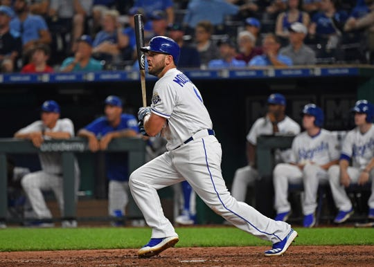 Mike Moustakas is on the free-agent market for the second time in two years.