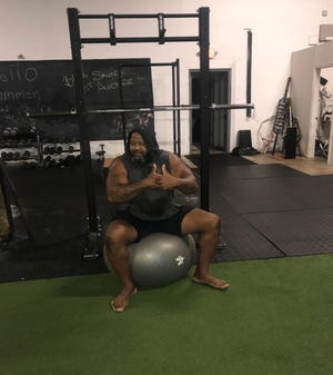 P80 Fitness founder Christopher Huff
