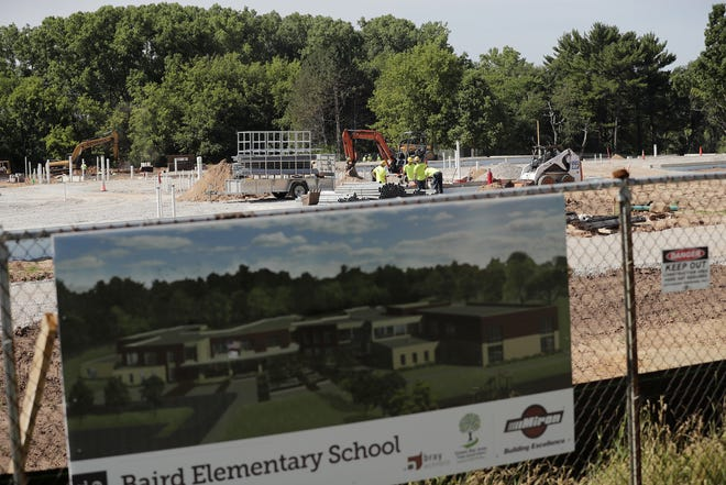 The new Baird Elementary School on Green Bay's east side is expected to open for the 2019-20 school year.