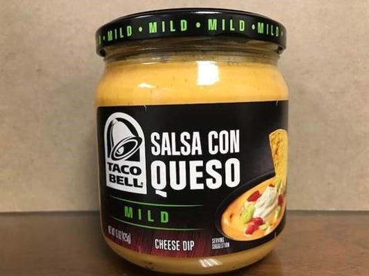 Taco Bell Salsa Con Queso Mild