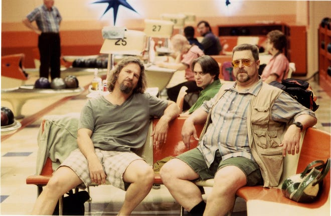 """The Big Lebowski"" cast included (from left) Jeff Bridges, Steve Buscemi and John Goodman."