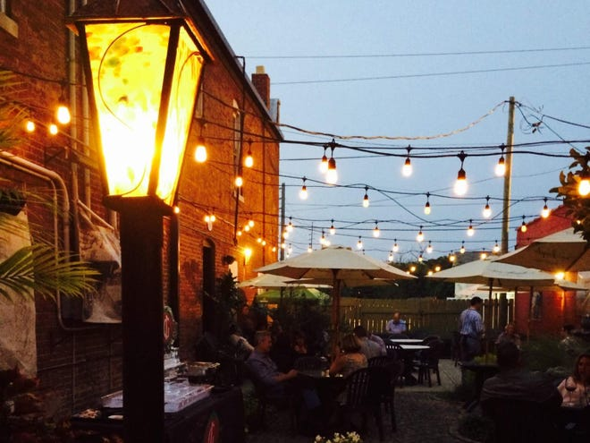 Iozzo's Garden of Italy presents live music in its courtyard.