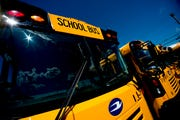 Two school buses were involved in a crash in West Knox County on Thursday afternoon, according to the Knox County Sheriff's Office.