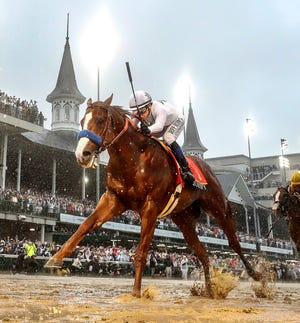 Triple Crown winner Justify has been retired from racing due to an ankle injury.